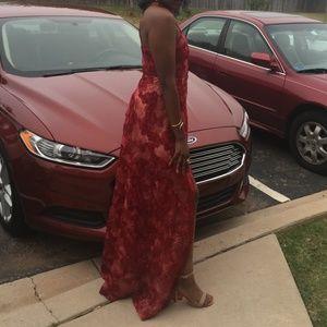 fedc815b736 Windsor Dresses - KALEA BURGUNDY FIERY SUNSET DRESS